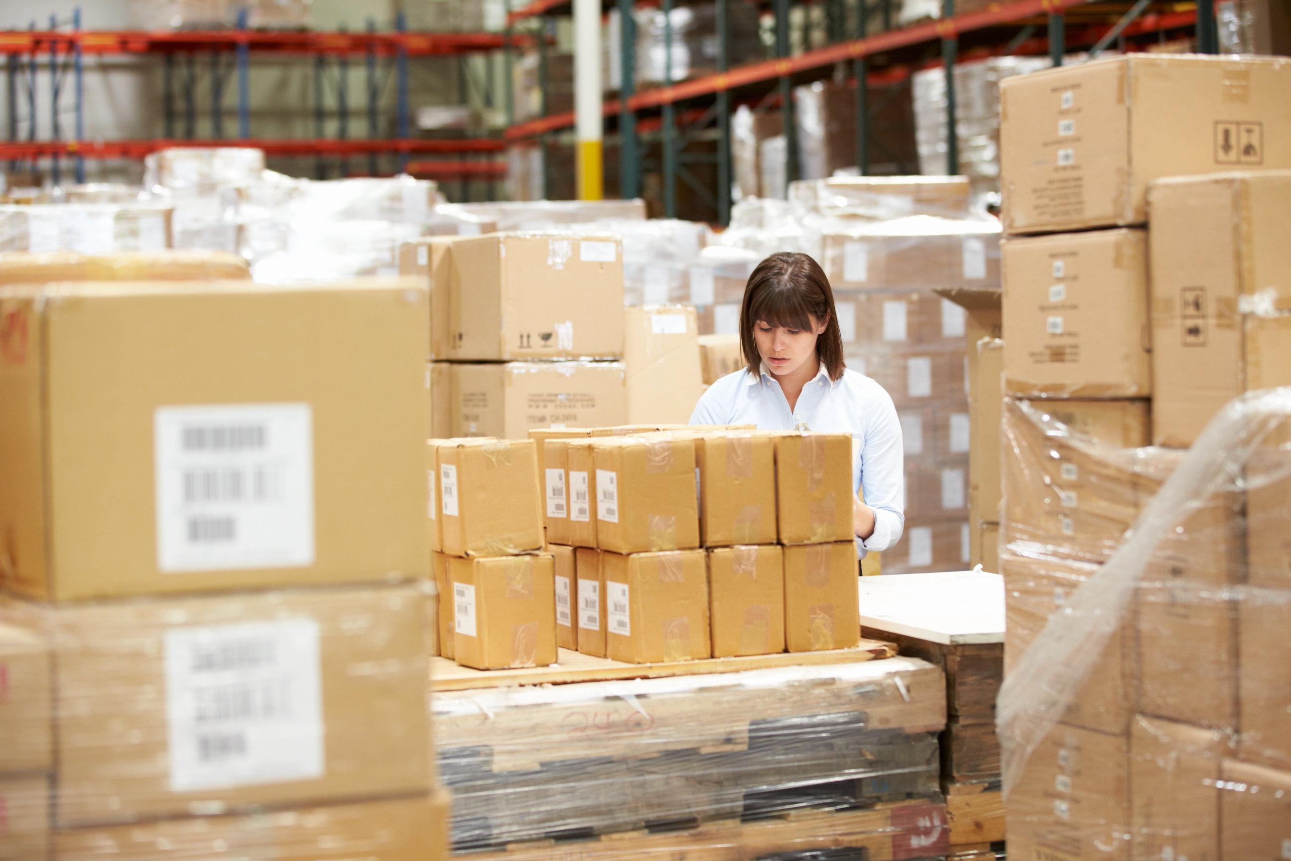 Jane Abbott – Warehouse Manager