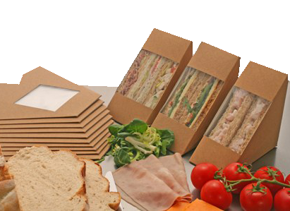 Sandwich Wedges - Biodegradable