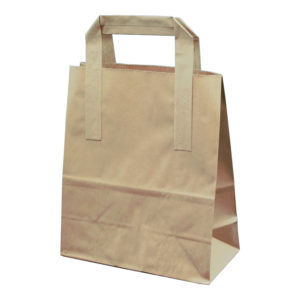 Paper Tape Handle Bag