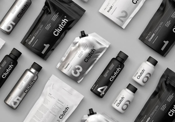 Monochrome packaging trend example