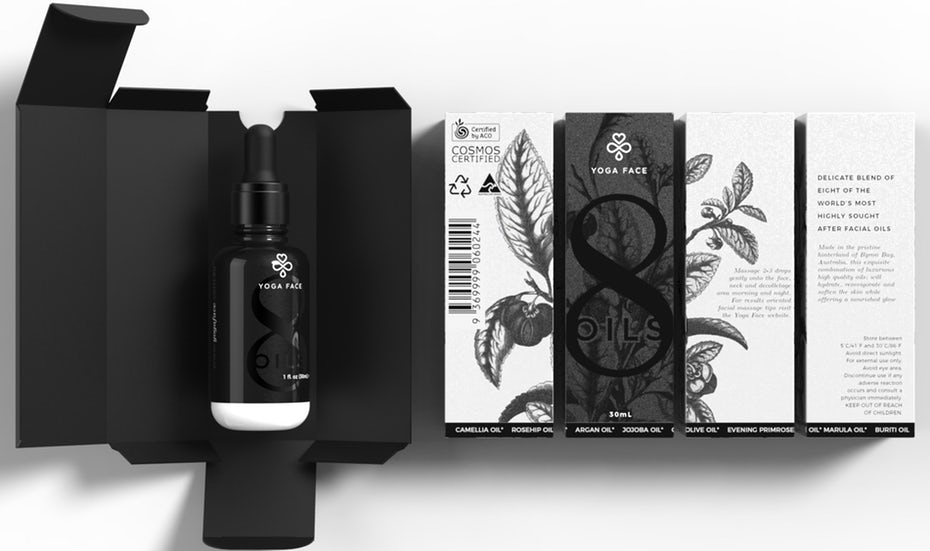 Black and White packaging trend