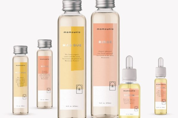 Yellow and pink packaging trend
