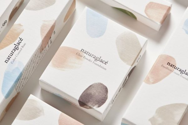 Nude coloured makeup packaging trend