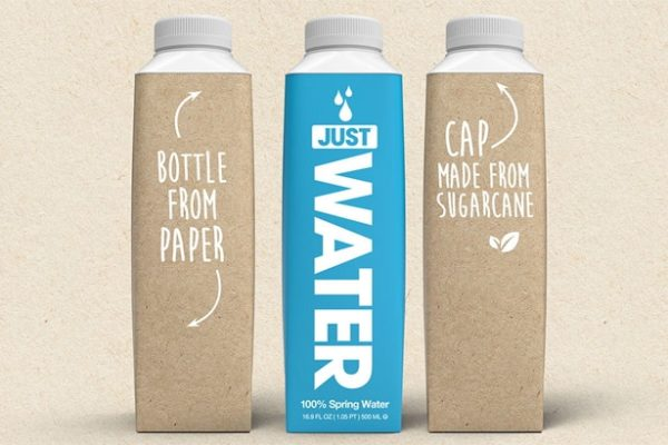 Plastic Free Water Bottle Packaging Trend