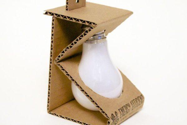 Plastic Free Lightbulb Packaging