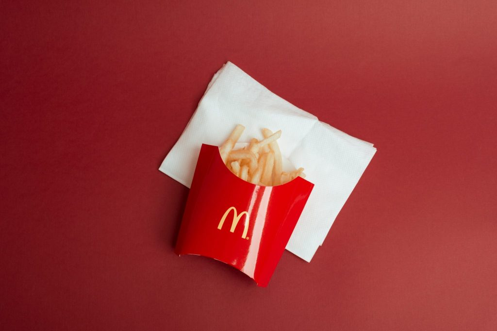 McDonald's Red Colour In Packaging