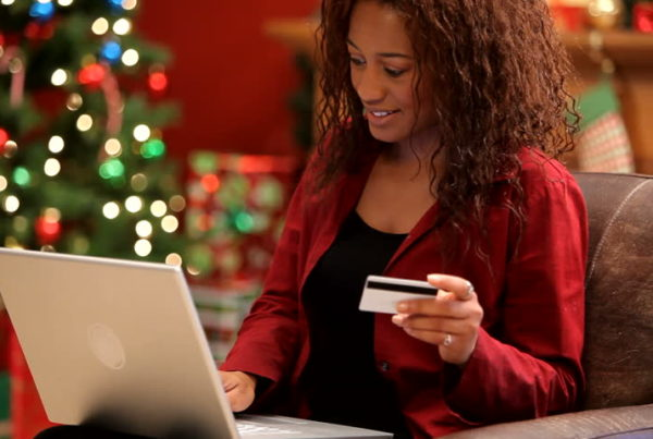 Avoiding christmas rush with online shopping