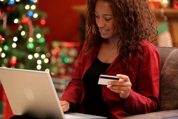 Avoiding christmas rush with online shopping