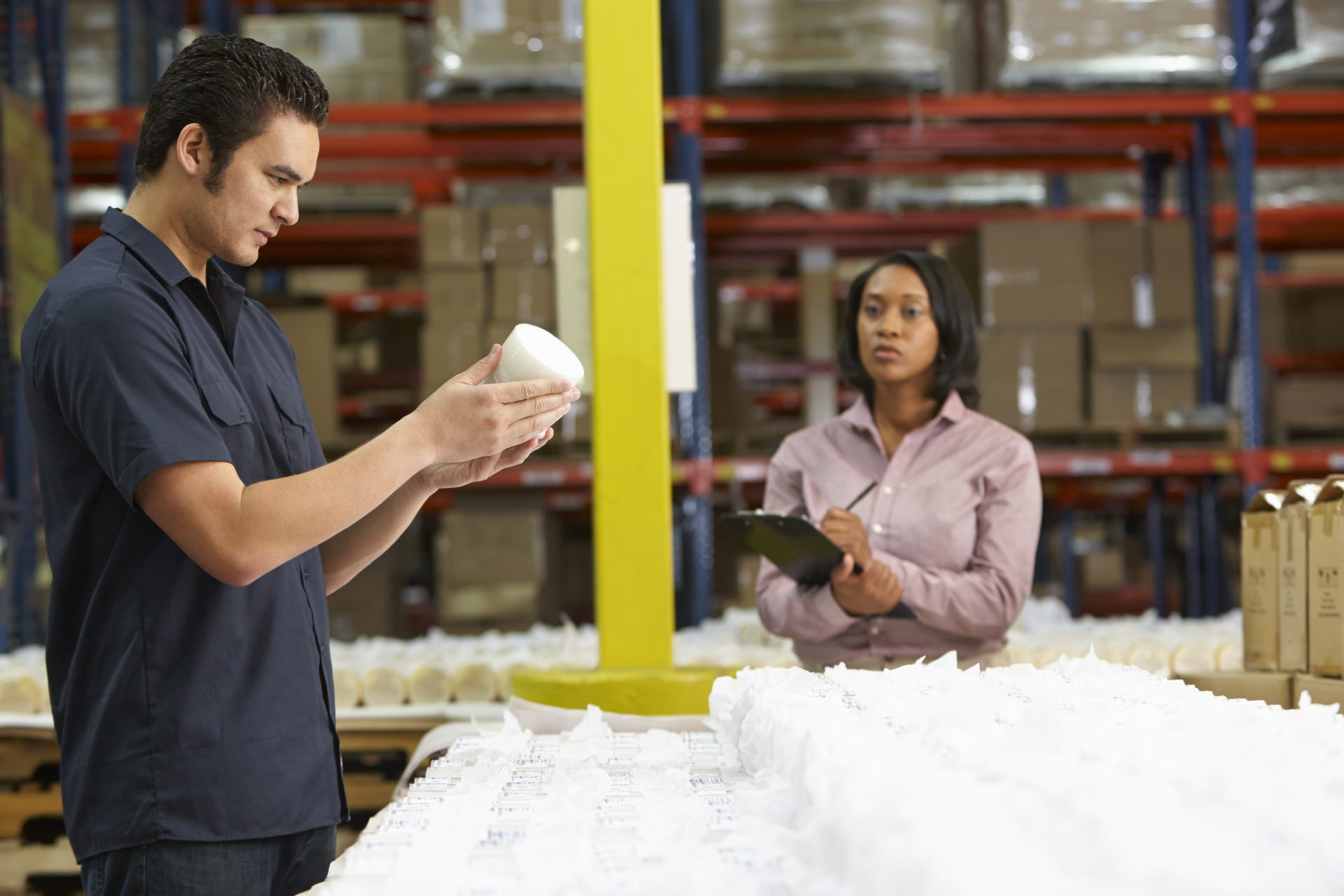 Automation technology packaging checks