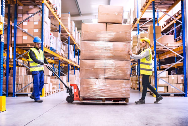 Safely Wrapped Pallets That Help Towards Working Conditions