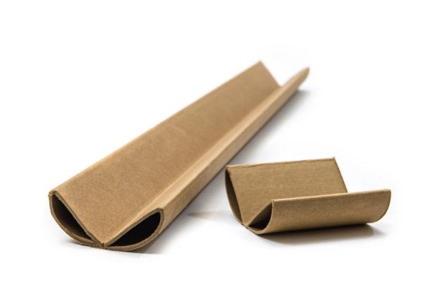 Anglepost for packaging