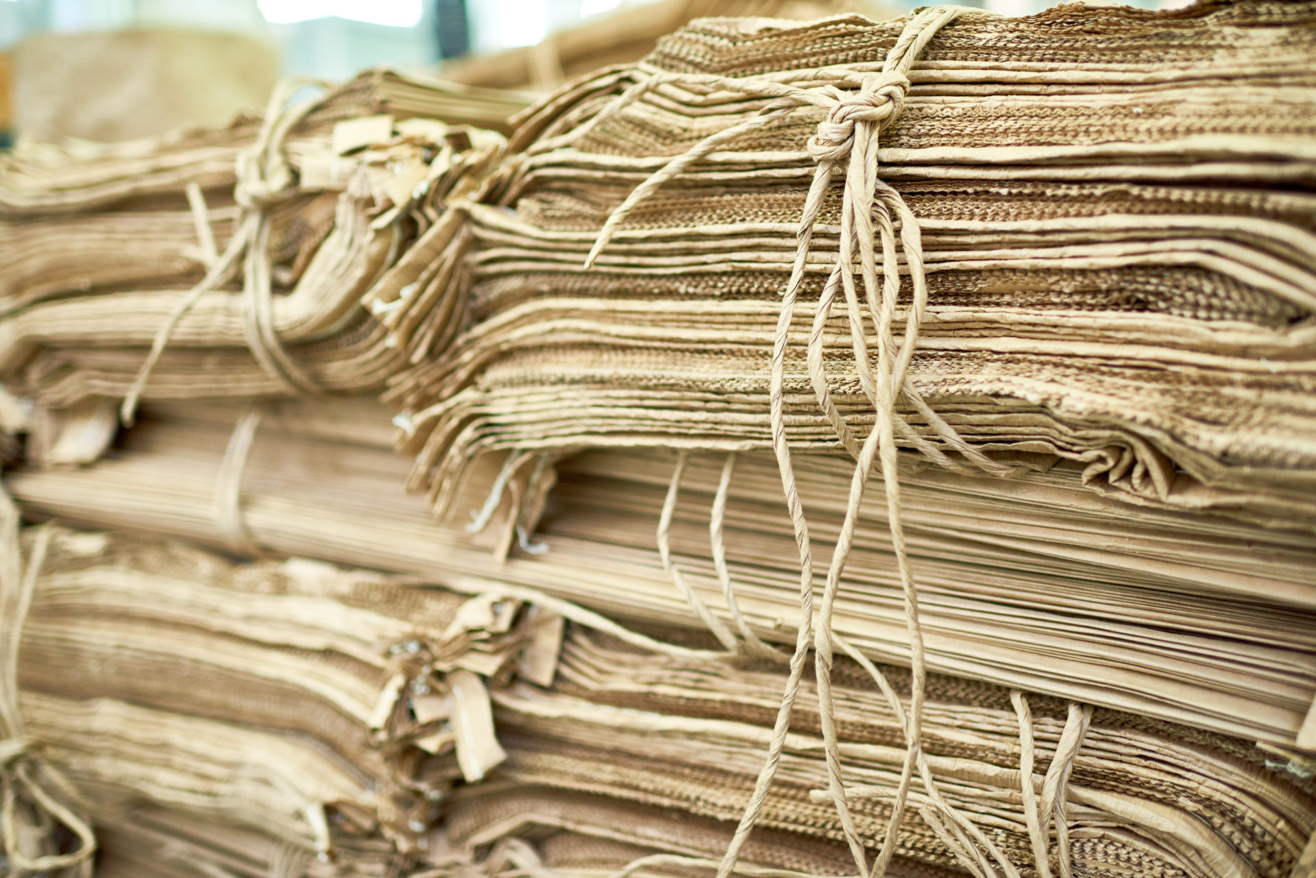Sustainable cardboard packaging